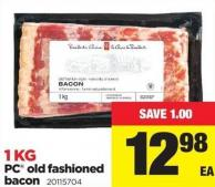 PC Old Fashioned Bacon - 1 Kg