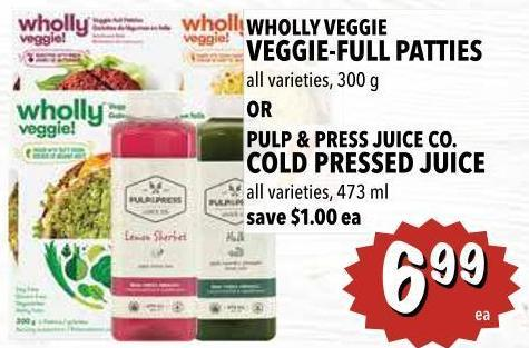 Pulp & Press Juice Co. Cold Pressed Juice