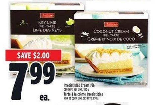Irresistibles Cream Pie Coconut - Key Lime