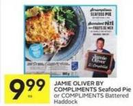 Jamie Oliver By Compliments Seafood Pie