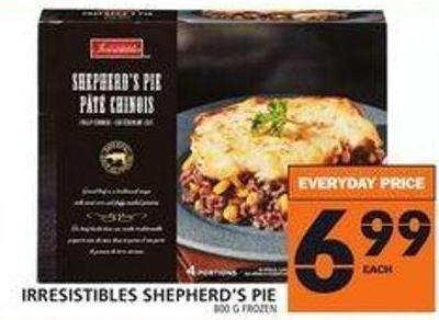 Irresistibles Shepherd's Pie