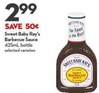 Sweet Baby Ray's  Barbecue Sauce  425ml Bottle