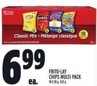 Frito-lay Chips Multi Pack