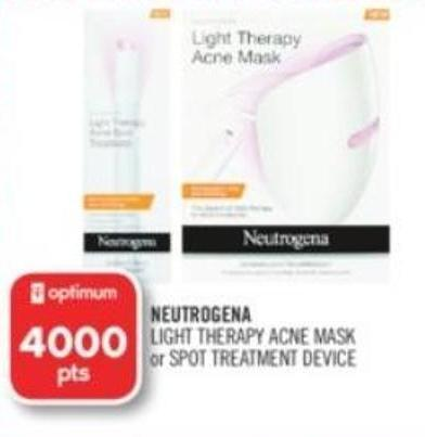 Neutrogena Light Therapy Acne Mask or Spot Treatment Device