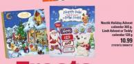 Nestlé Holiday Advent Calendar 365 G - Lindt Advent Or Teddy Calendar 128 G