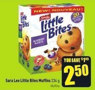Sara Lee Little Bites Muffins 234 g