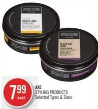 Axe Styling Products