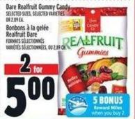 Dare Realfruit Gummy Candy