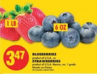 Blueberries or Strawberries
