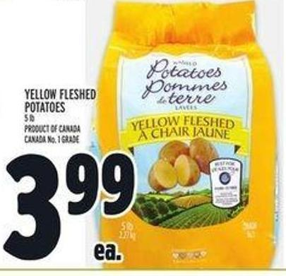 Yellow Fleshed Potatoes