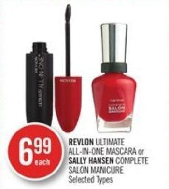 Revlon Ultimate All-in-one Mascara or Sally Hansen Complete Salon Manicure