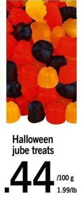 Halloween Jube Treats