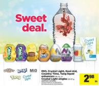 Mio - Crystal Light - Kool-aid - Country Time - Tang Liquid Enhancers - 48 Ml Or Crystal Light Singles - 23-57 G