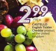 Castello English Tickler Cheddar