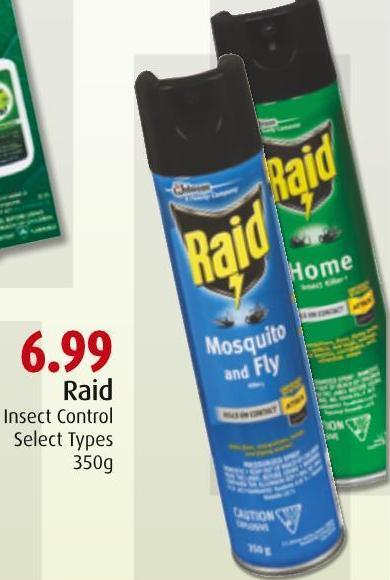 Raid Insect Control
