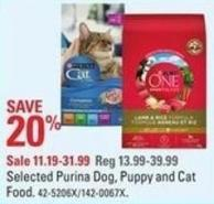 Purina Selected Purina Dog - Puppy and Cat Food