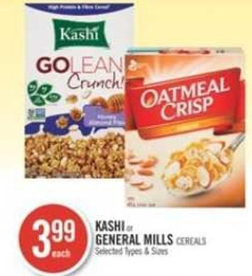 Kashi or General Mills Cereals