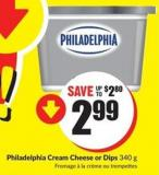 Philadelphia Cream Cheese or Dips