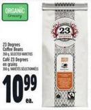 23degrees Coffee Beans 350 g