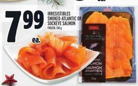 Irresistibles Smoked Atlantic Or Sockeye Salmon