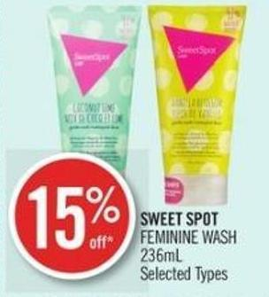 Sweet Spot Feminine Wash 236ml