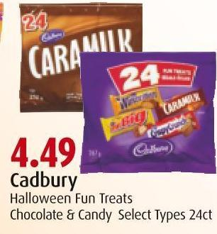 Cadbury  Halloween Fun Treats