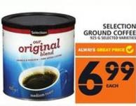 Selection Ground Coffee