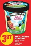 Ben & Jerry's Ice Cream - 500 mL