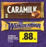 Cadbury Single Bars - 32–60 g