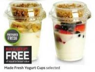 Made Fresh Yogurt Cups