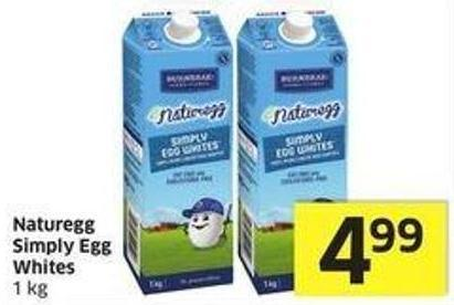 Naturegg Simply Egg Whites 1 Kg