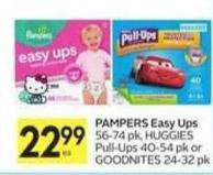 Pampers Easy Ups - 50 Air Miles Bonus Miles