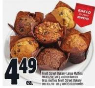 Front Street Bakery Large Muffins