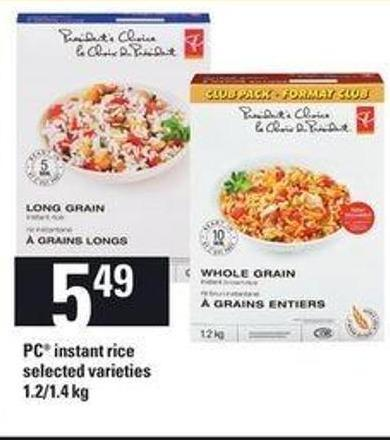 PC Instant Rice - 1.2-1.4 Kg