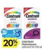 Centrum Multivitamins - 5 Air Miles
