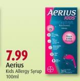 Aerius Kids Allergy Syrup 100ml