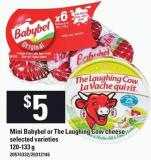 Mini Babybel Or The Laughing Cow Cheese - 120-133 g
