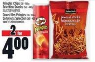 Pringles Chips 130 - 156 g Selection Snacks 265 - 400 g