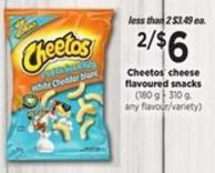 Cheetos Cheese  Flavoured Snacks   (180 g – 310 g - Any Flavour/variety)