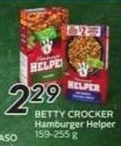 Betty Crocker Hamburger Helper - 50 Air Miles Bonus Miles