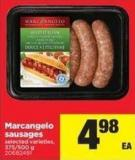 Marcangelo Sausages - 375-500 g