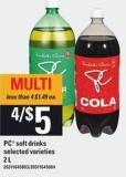 PC Soft Drinks - 2 L