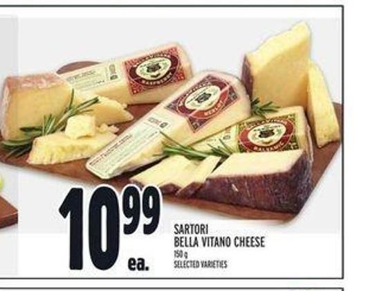 Sartori Bella Vitano Cheese