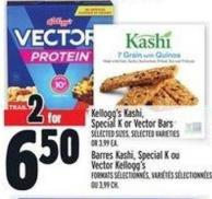 Kellogg's Kashi - Special K Or Vector Bars