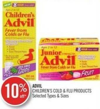 Advil Children's Cold & Flu Products