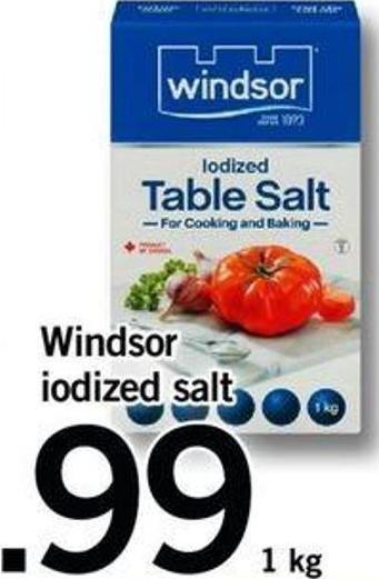 Windsor Iodized Salt - 1 Kg