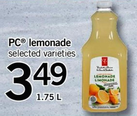 PC Lemonade - 1.75 L