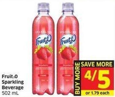Fruit20 Sparkling Beverage 502 mL