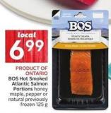 Bos Hot Smoked Atlantic Salmon Portions