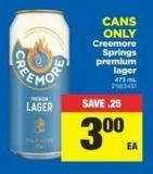 Creemore Springs Premium Lager - 473 mL